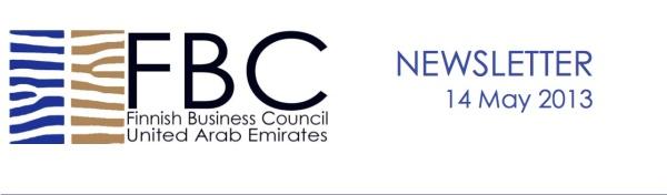 FBC UAE Newsletter header